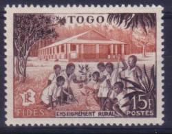 Togo N° 259 Neuf ** - Enseignement Rural - Togo (1914-1960)