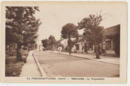 LA FERTE SAINT AUBIN : SAINT AUBIN - LA POUPONNIERE - CPA - 2 SCANS - - La Ferte Saint Aubin