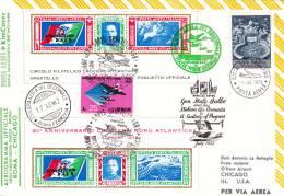 [W] Enveloppe Commémorative Offcial Cover Aviation Oblitération Spéciale Special Cancellations - Trasporti