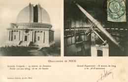 NICE - L'observatoire - Grande Coupole - Grand équatorial - Carte Multi Vues - Non Classés