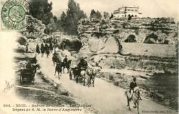 NICE - Ruines De Cimiez - Les Arènes - Départ De La Reine D'Angleterre - Non Classés