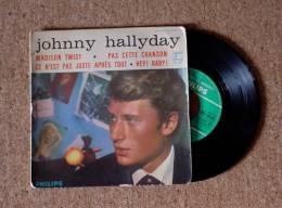 45 T EP ORIGINAL - JOHNNY HALLYDAY  -  MADISON TWIST + 3 Titres - BIEM 432.799 BE - 45 G - Maxi-Single