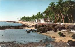 Afrique-Guinée-CONAKRY- La Corniche (2) - AFRICOLOR (Cpsm Photo Editions:La Carte Africaine N°669)*PRIX FIXE - Guinée