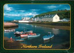 Cushendun, Co Antrim, Northern Ireland Postcard Used Posted To UK 2000s Stamp - Antrim / Belfast