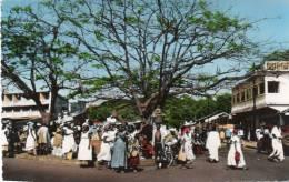 Afrique-Guinée-CONAKRY-(2) (Animation )- AFRICOLOR (Cpsm Photo Editions:La Carte Africaine N°656) *PRIX FIXE - Guinée