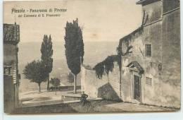 FIESOLE  -  Panorama Di Firenze, Dal Convento Di S. Francesco. - Italie