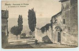 FIESOLE  -  Panorama Di Firenze, Dal Convento Di S. Francesco. - Non Classés