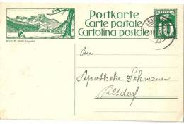 "PK 101  ""Silvaplana / Engadin""             1924 - Interi Postali"