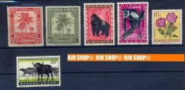 6 X Briefmarken, Ruanda ** - Sonstige
