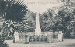 MAURICE - Tombeaux Des Gouverneurs - Messageries Maritimes - Maurice