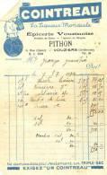 Vouziers 1932 - Alcoo - Cointreau - Epicerie Pithon - Alimentaire