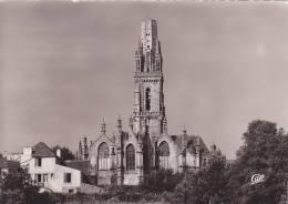 20902 LAMPAUL-GUIMILIAU  (29 France Bretagne ) Abside De L'Eglise Et Le Clocher _18 Cap Cpsm Grand Format