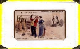 Chromos  ..  Musique  ..  Solfège  Diminuendo .. Chocolat Guérin-boutron - Chromos