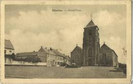 Ellezelles :  Grand ' Place   ( Ecrit 1923 Avec Timbre )   Carte Carnet - Ellezelles