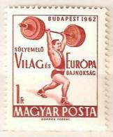 Hungary MNH Stamp - Weightlifting
