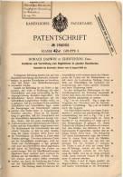 Original Patentschrift - Horace Darwin In Chesterton , England , 1905 , Apparat Zum Registrieren In Koordinaten !!! - Tools