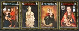 1971 Grenada Natale Christmas Noel Set MNH** Nat9 - Grenada (...-1974)