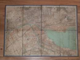 Carte Ancienne De La Suisse Sur Tissu - Mapas Geográficas