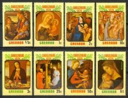 1974 Grenada Natale Christmas Noel Set MNH** Nat11 - Grenada (...-1974)