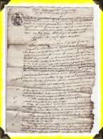 1808  -  Vente Par Autorité De Justice  à Felletin  (original)  -  23 Creuse - Manuscrits