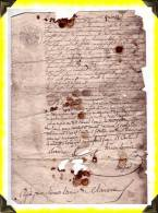 1846  -  Mise En Demeure à Léonard Lamy à Clairavaux  -  23 Creuse - Manoscritti