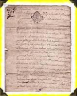 1776  -   Bail   -  23 Creuse - Manoscritti