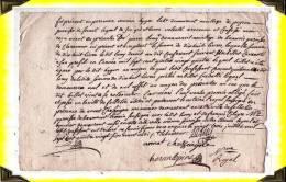 1786  -   Quitance Faite à Felletin   -  23 Creuse - Manuscrits