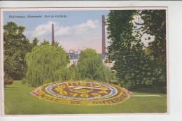 L 4500 DIFFERDINGEN / DIFFERDANGE, Blumenuhr/Horloge Fleurie/Bloem Klok, Parc De Gerlache 1934 - Differdingen