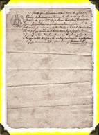 Reçu De Payement  -  23 Creuse - Manoscritti