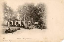 BERARD Rue Principale Cf Etat - Algiers