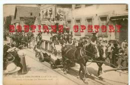 67 - SCHILTIGHEIM - Kermesse 1919 - Char Alsace Lorraine - Dos Scané - Schiltigheim
