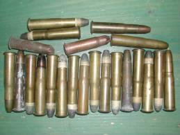 22 Cartouches Fusil Gras - Armes Neutralisées