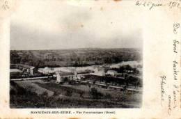 78 BONNIERES SUR SEINE - Vue Panoramique  - Cpa Précurseur 1902 - Bonnieres Sur Seine
