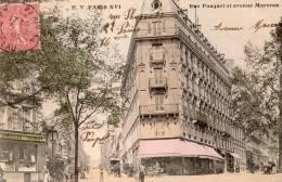 PARIS RUE PAUQUET ET AVENUE MARCEAU - Arrondissement: 16