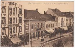 La Panne - De Panne - De Zeelaan En Hotel Rivoli - Uitg. Star - Gestuurd Naar Nivelles - De Panne
