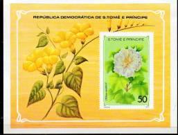 LOT N° 470 - SAINT THOMAS BF 10 ** - HIBISCUS - Cote  10 € - Plants