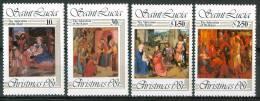 1981 St.Lucia Natale Christmas Noel Set MNH** Nat31 - St.Lucia (1979-...)