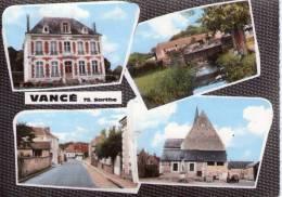 Vancé..belle Multi-vues..l´Eglise..la Mairie - France