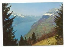 SWITZERLAND - AK132475 Walenstadtberg / SG Mit Walensee - Mürtschenstock Und Glarnerberge - SG St. Gall