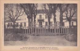 20912 - ROCHE POSAY STATION THERMALE ,entrée De L'établissement Bains Fontaines; 839 Robuchon - France