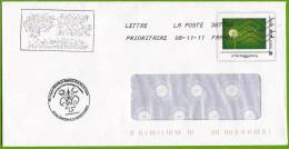 IDTimbre - Graines De Pissenlit / Dandelion Seeds. Entier Postal / Postal Stationery (PàP). - Francia