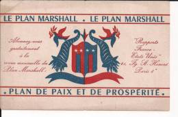 Plan Marshall Buvard WWII Ww2 1939-1945 39-45 2wk - 1939-45