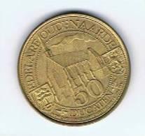 België Gemeentepenningen 1981 Oudenaarde 50 Ducaten - Gemeentepenningen