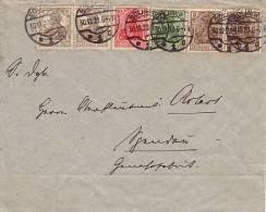 DR Brief Mif Minr.2x 84II,86II,2x 102,143 Solingen 30.12.20 - Briefe U. Dokumente