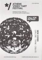 Athens Video Art Festival/Digital Arts & New Media - Greece Carte Postale/postcard - Altri
