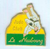 Pin's Judo Club LE NEUBOURG (27) - Judokas - Randori - B982 - Judo