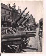 Villers Cotterets Aisne Canons Pris Par Le 9eme Tirailleurs WWI Ww1 14-18 1914-1918 1wk Poilus - Krieg, Militär