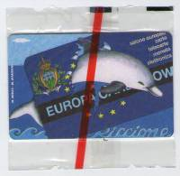 RICCIONE - EUROPA CARD SHOW - Scheda Telefonica San Marino N. 34 - L. 10.000 - 1998 - Saint-Marin