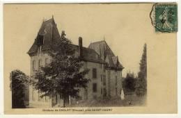 SAINT VAURY  -  Le Château De Cholet  -  Ed. Lalière, N° -- - Other Municipalities