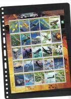 MARSHALL ISLANDS,2000,PLANES,LEGEN DARY AIRCRAFT II , SHEETLET OF 25v,  MNH - Vliegtuigen